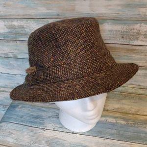 Wool fedora style hat